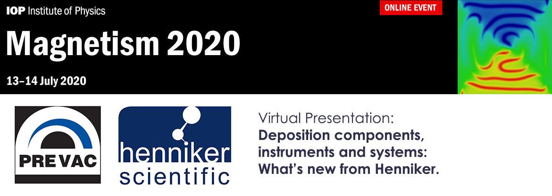 UK Surface Analysis Forum Henniker Scientific Event 2020