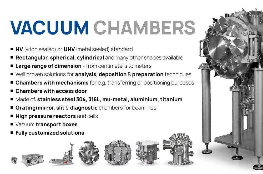 Hen Scientific - vacuum chambers