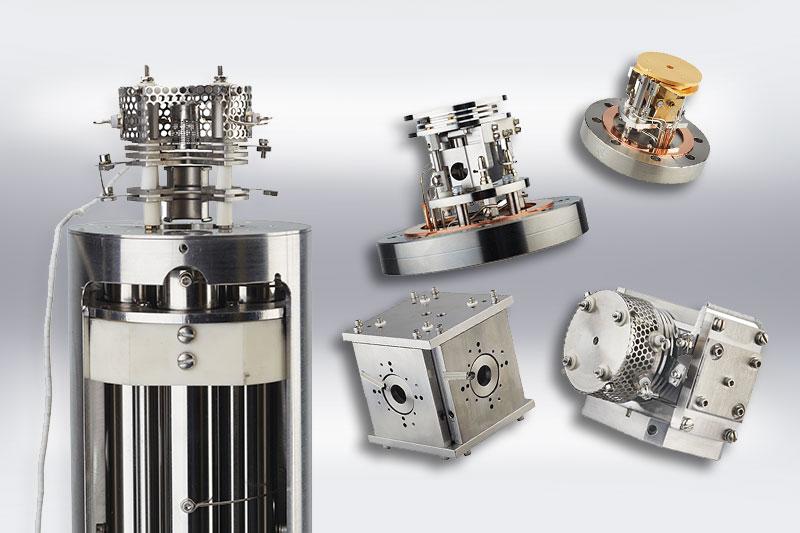 Henniker Scientific Mass Spec Components