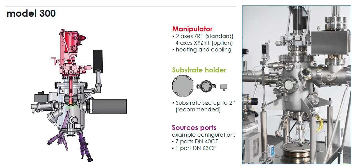 henniker scientific prevac mbe system vacuum chamber model 300