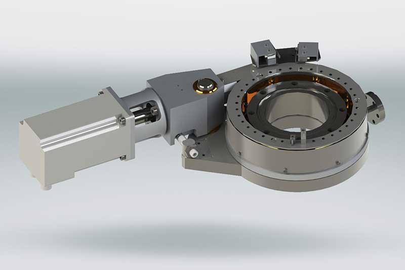 Henniker Scientific Differentially Pumped Rotary Feedthrough DPRFT