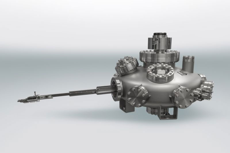 Henniker Scientific Radial Distribution Chamber UFO telescopic