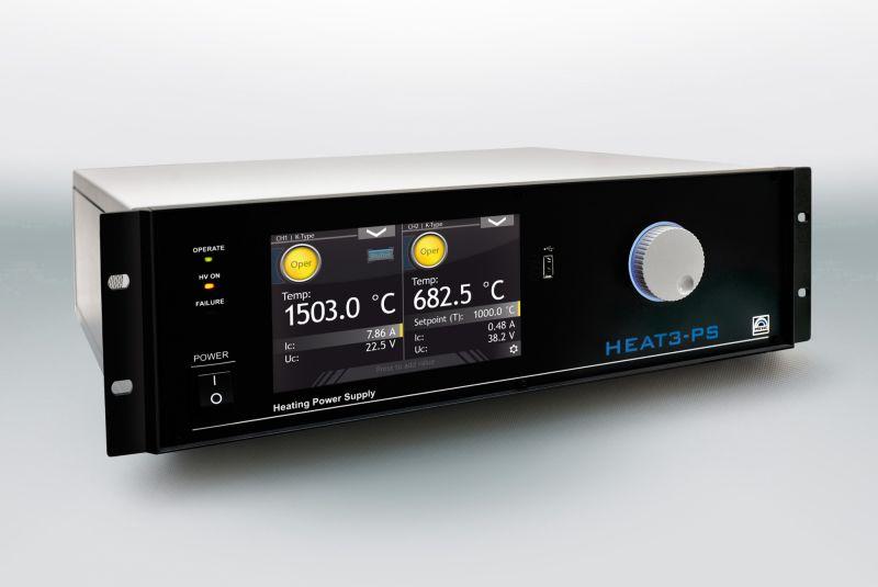 Heat3-PS UHV Sample Heater Power Supply Split Screen