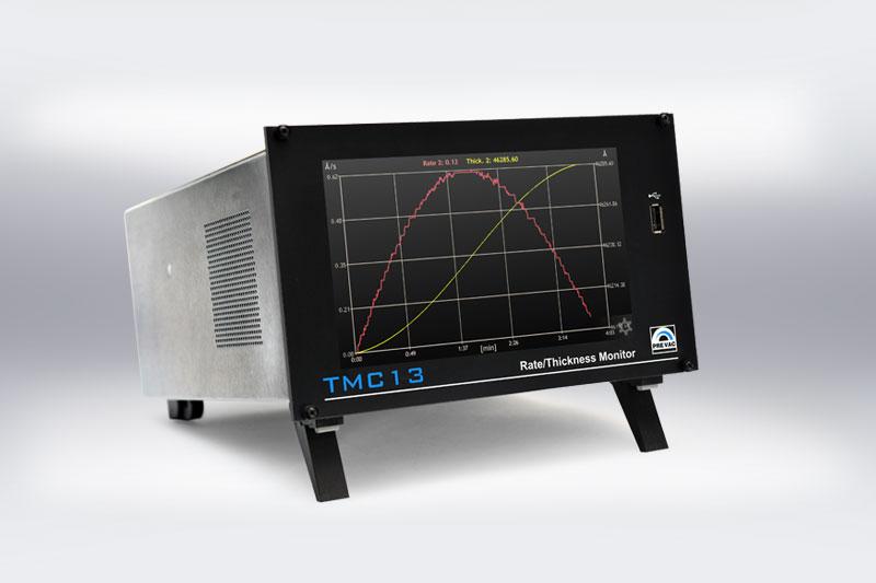 TMC13 Thin Film  Deposition Rate Controller 2D Graph