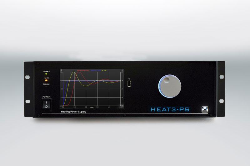 Heat3-PS UHV Sample Heater Power Supply 2D Graph