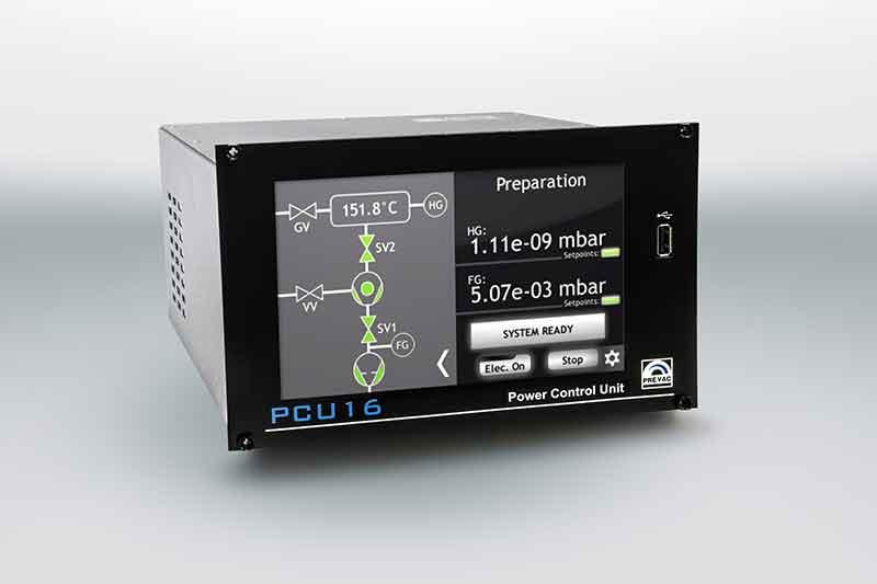 Henniker Scientific Vacuum System Controller PCU16 prevac