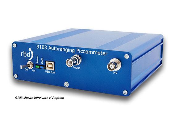 henniker scientific RBD Instrument 9103 hv picoammeter